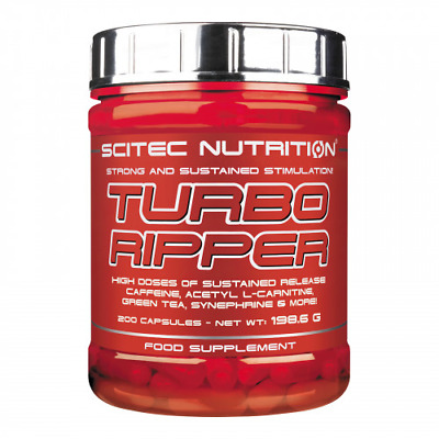 Turbo Ripper Scitec Nutrition 200 Caps