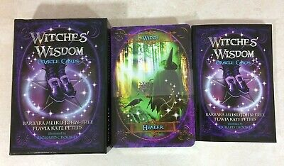 Witches' Wisdom Oracle Cards, shipping within 24 hours, very good condition