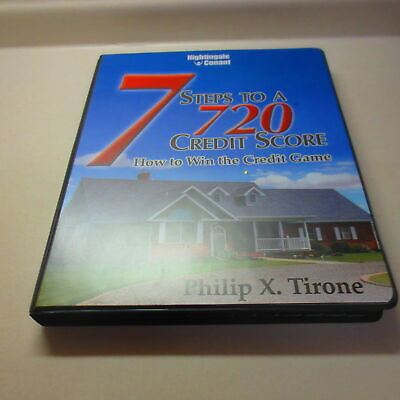 7 Steps to a 720 Credit Score How to Win the Credit Score Game - CD's & Workbook