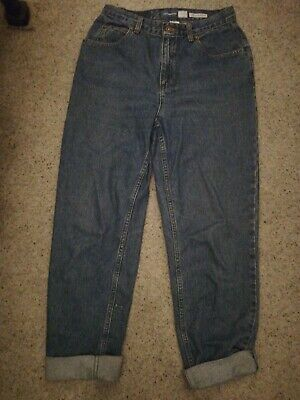 True Vintage 1980s 1990s Mom Cut Jeans Denim size small would fit 10 classic
