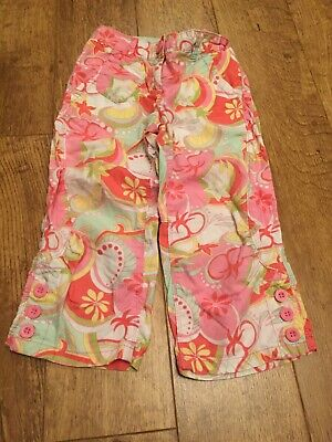 Girls Next 3/4 Colourful Shorts/ Trousers 9 Yrs