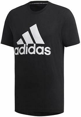 Adidas Black/White Must Haves Badge of Sport T-Shirt