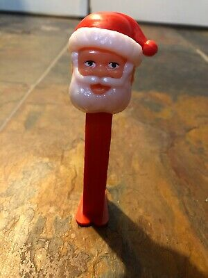 Vintage Santa Claus Rounded Feet Pez Candy dispenser Collectible