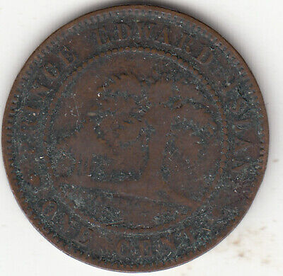 1871 PEI Victoria Large Cent G 4