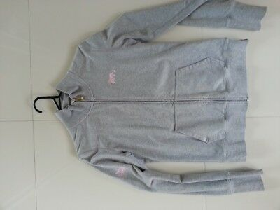 Lonsdale Grey Size 12 Ladie's Tracksuit Top Good condition