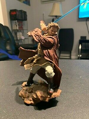 Hasbro Star Wars Unleashed Obi-Wan Kenobi Attack of the Clones jedi knight