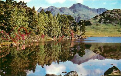 Picture Postcard::English Lake District, Blea Tarn And Langdale Pikes