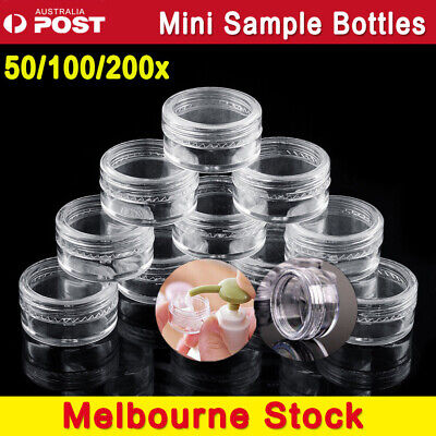 Mini Sample Bottle Cosmetic Makeup Jar Pot Face Cream Lip Balm Containe Nail Box