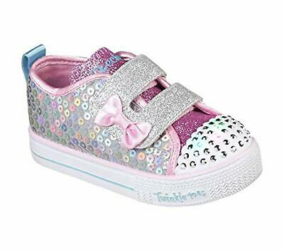 Skechers Kids Girls' Shuffle LITE-Mini Mermaid Sneaker, 7.5 Medium US Toddler