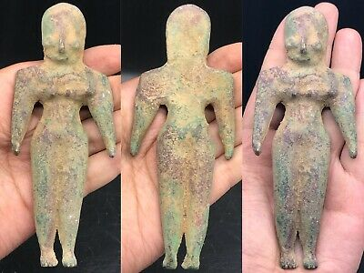 Circa 2200-1800Bce Ancient Indus Valley Harappan Bronze Statuette