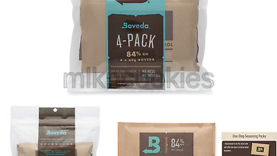 Boveda 84% RH 60 Gram, Patented 2-Way Humidity Control, (1) 4-Pack, Unwrapped...