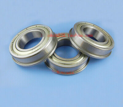 10pcs Flange Cup Stainless steel Flanged Bearing SF6901ZZ 12 x 24 x 6mm[DORL_A]