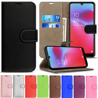 Premium Leather Wallet Stand Flip Case Cover For All Vodafone Smart Phone Models