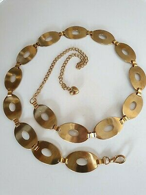 Vintage Gold Chain Link Belt