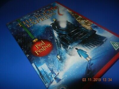 Polar Express Dvd Xmas Presents Gifts Boys Girls Kids Christmas Eve Box Santa Nr