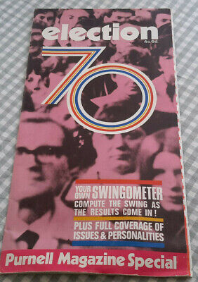 Purnell Magazine Special Covering The Election 1970