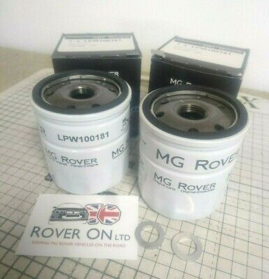 ROVER GENUINE MG ROVER K SERIES PETROL OIL FILTER LPW100181 X 10 FILTERS
