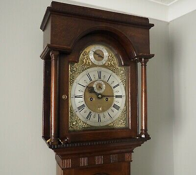 Antique 8 Day Longcase Grandfather Clock C.1715 John Morgan Clock Makers Company