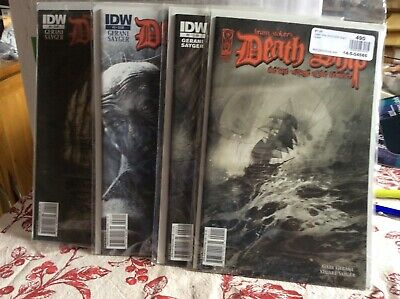 Bram Stoker's Deathship comic. Complete 4 issues. Dracula