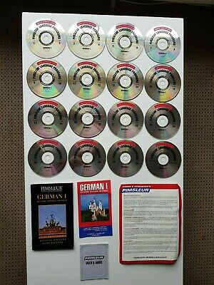 Pimsleur GERMAN I, Second Edition, Whole series or Replacement Discs