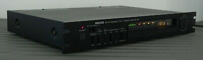 Nikko Gamma 20 Synthesized FM Stereo Tuner : Good Working Condition!!!