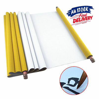 Reusable 1.5mVW Calligraphy Notebook Magic Chinese Fabric Water Paper Book Cloth