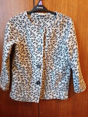 Next Girls Long Lined Jacket Age 10 Years Exc Cond