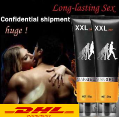PENIS XXL ManGels 50ml Bigger Strong Gel Enlarger Max SizeGold Sex Largo