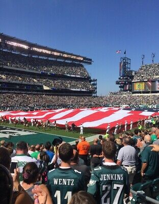 Philadelphia Eagles vs New England Patriots - 11/17/19 Sec 114, Row 12