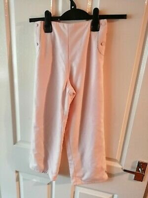 Girls Pink Trousers by Elle - Size 8 years