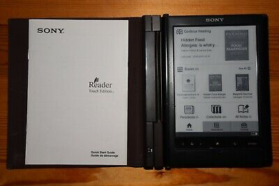 LIBRO ELECTRÓNICO EBOOK - Sony eReader with light and original leather cover
