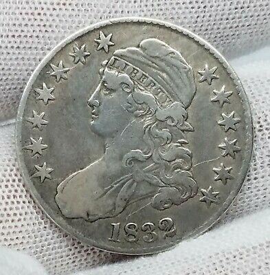 1832 Capped Bust Half Dollar | 50¢  *Silver*   ~Very Fine~   *74