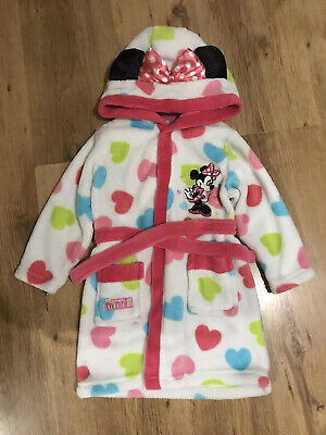 Minnie Mouse Dressing Gown 12-18 Months