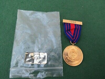 1982 Royal Military Police And City Of Chichester March Medal