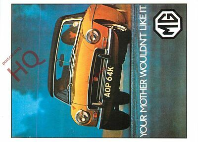 Picture Postcard-:MGB ROADSTER 1971