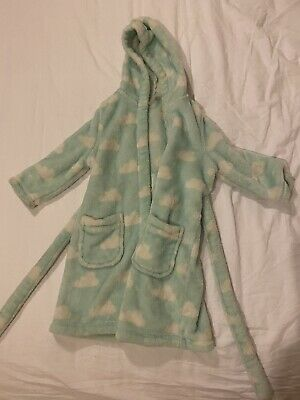 M&S Girls Dressing Gown Age 1-2 Years