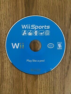Wii Sports Nintendo 2006 Game TENNIS GOLF BOWLING - Disc Only