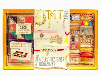 STMT DIY Jewelry Designer & Organizer Over 3000 Accessories /chokers & bracelets