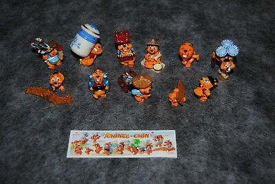 kinder serie complète chinee chin