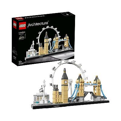 LEGO 21034 Architecture London Skyline Model Building Set, London Eye, Big Be...