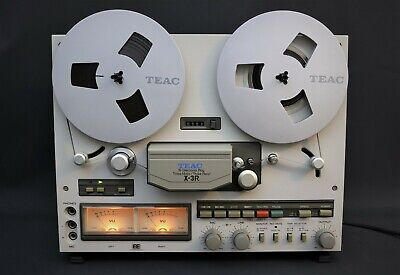 TEAC X-3R 3 Reel to Reel Tape Recorder , Autoreverse, EE tape, from squonk.co