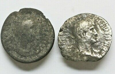 Lot Of Tow Roman Silver Coins Roman Imperial(27 Bc-476 Ad) L13
