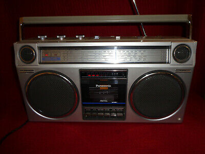 Panasonic RX-5025LE Radio Tape Recorder Boombox Ghettoblaster - Great Condition