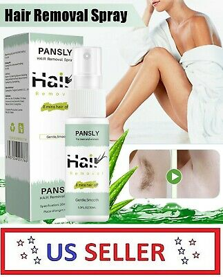 30ml Painless Hair Removal Spray Permanent Depilatory Soft Skin