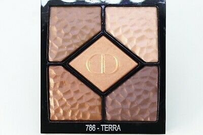 DIOR DIORSHOW 5 COULEURS  LIMITED EDITION #786 TERRA 5,7gr NUEVO SIN CAJA