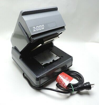 NewBold Addressograph Electric ID Card Imprinter Embosser Model 2100 Medical