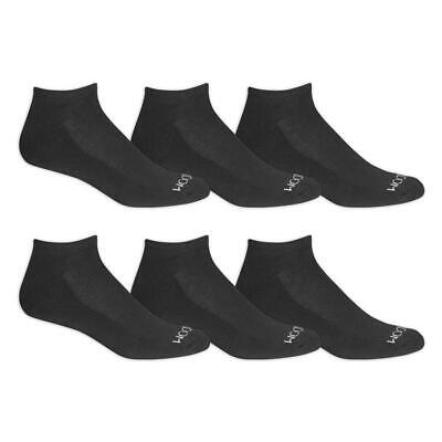 """Fruit of the Loom® Men's Durable Cushioned No Show Socks 6 Pairs """" BIG & TALL"""""""