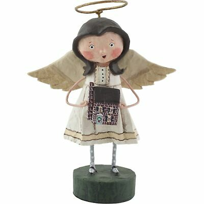 Lori Mitchell Angel of the Home Christmas Folk Art Figure Figurine