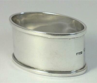 Antique hallmarked Sterling Silver Napkin Ring (not inscribed) – 1915 (34g)