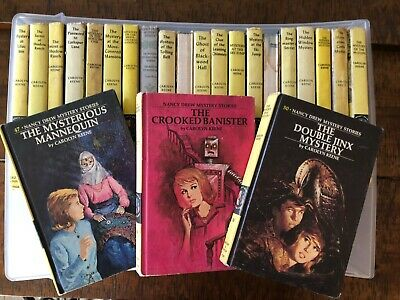 Nancy Drew Vintage Hardcover Books, Lot of 23 EUC - Choose One or More!